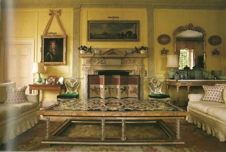 Nether lypiatt manor gloucestershire home decorating for Classic house at akasaka prince
