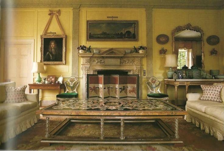 Nether lypiatt manor gloucestershire home decorating for Classic house akasaka prince