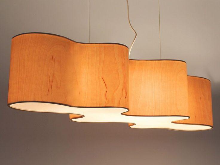 Lámpara colgante con luz indirecta CLOUD MESA by Lampa