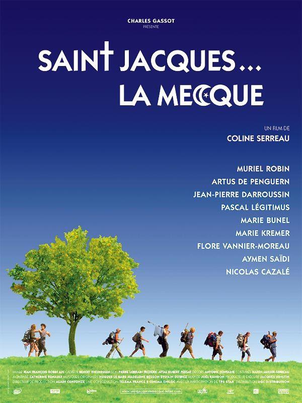 Saint-Jacques... La Mecque est un film de Coline Serreau avec Muriel Robin, Artus de Penguern. Synopsis : Au décès de leur mère, deux frères et une soeur apprennent qu'ils ne toucheront leur héritage que s'ils font ensemble, à pied, la marche du Puy-en-Vel