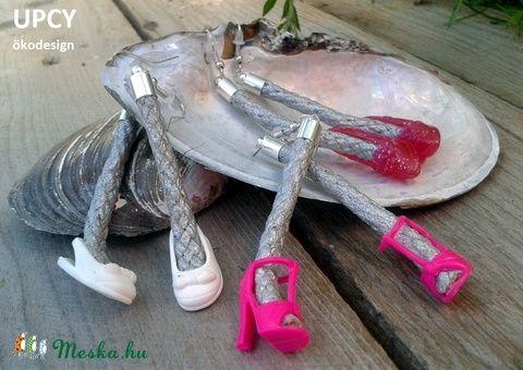 Barbie cipő extrém fülbevaló (Upcy) - Meska.hu