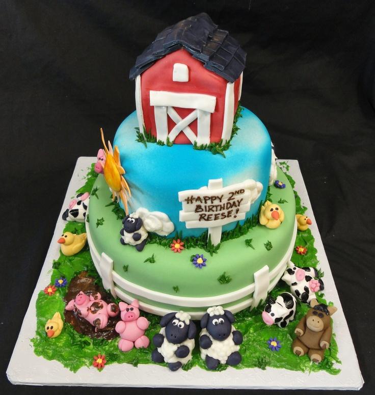 Fantastic Jungle Animals Birthday Cake Kids Birthday Cakes Pinterest Funny Birthday Cards Online Benoljebrpdamsfinfo