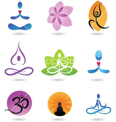 Zen and yoga logos vector 147137 - by ma_rish on VectorStock®