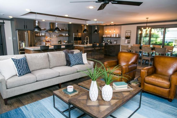 Fixer Upper's Best Living Room Designs and Ideas