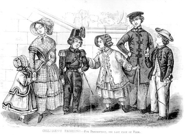 1850 March Plate 1850s Historical Childrenswear 1850s