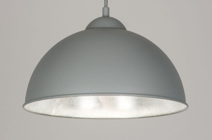 Závěsné svítidlo Parabollo Grey and Silver