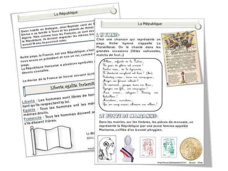 """Cela fait un petit moment que Yupie42 m'avait envoyé une BD sur les symboles de la République. Ces quelques pages sont issues de la BD """" l'élu et le citoyen """" (merci à Juliacricri pour la..."""