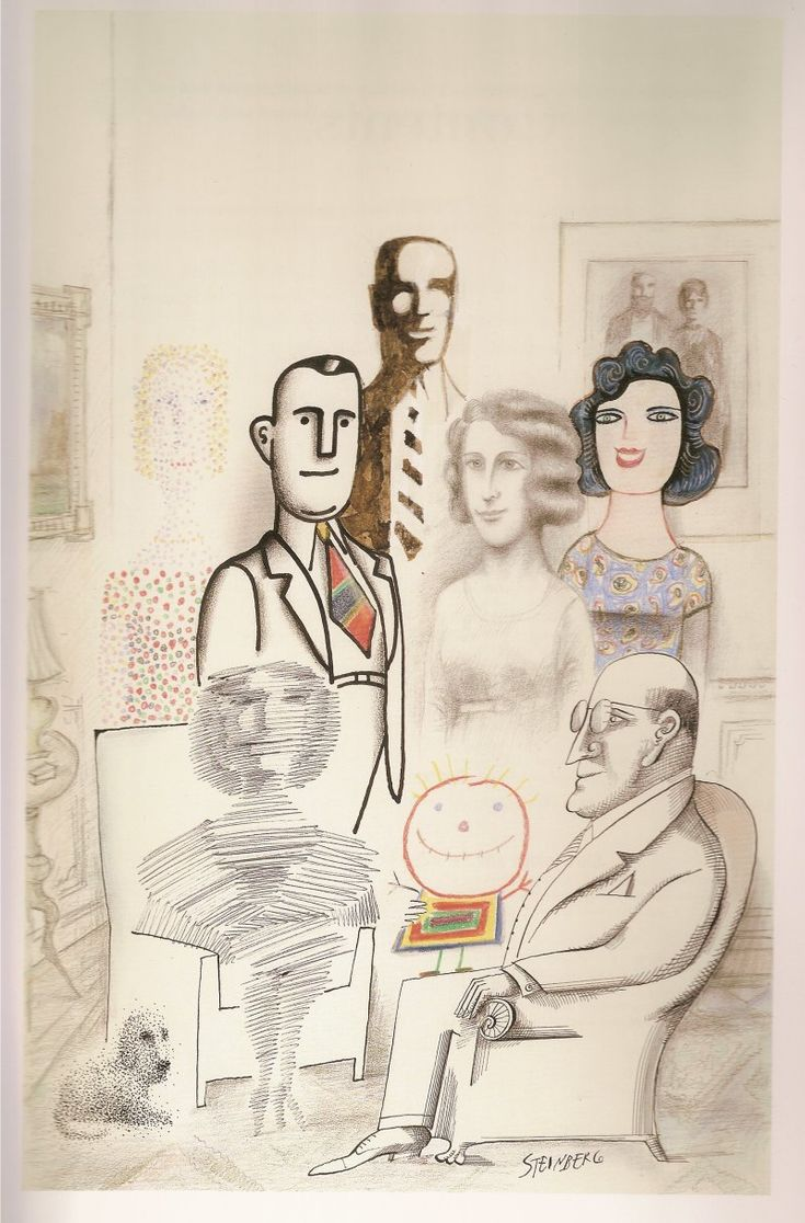 Another Saul Steinberg.