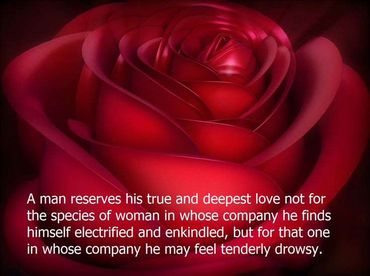 A man reserves his… A man reserves his true & deepest love not .....