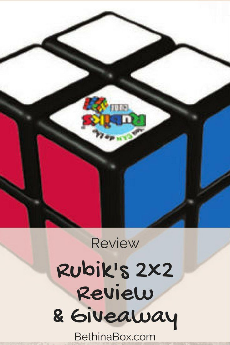 Rubik's Cube 2x2 Review & Giveaway - Beth in a Box