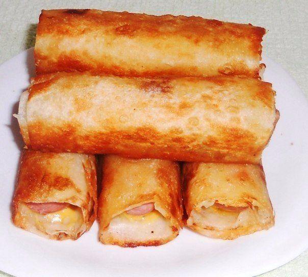 Сосиски в картофельно-сырной шубке и хрустящей корочке / Западло