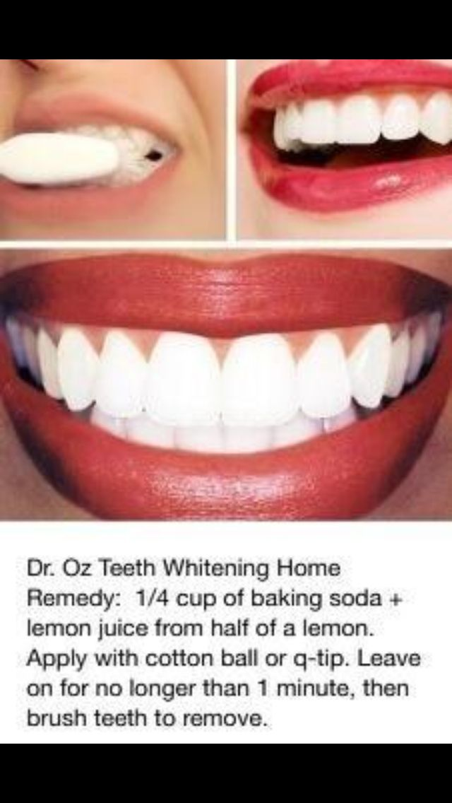 Might try this... I'm generally skeptical about at-home remedies, but I know baking soda and lemons both do wonders.                                                                                                                                                     More