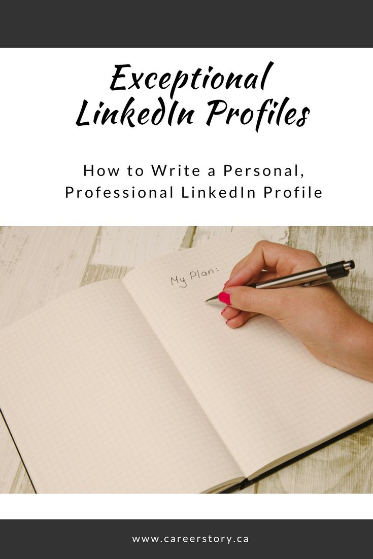 LinkedIn is often your first digital impression. Find out how to write an inspired profile.