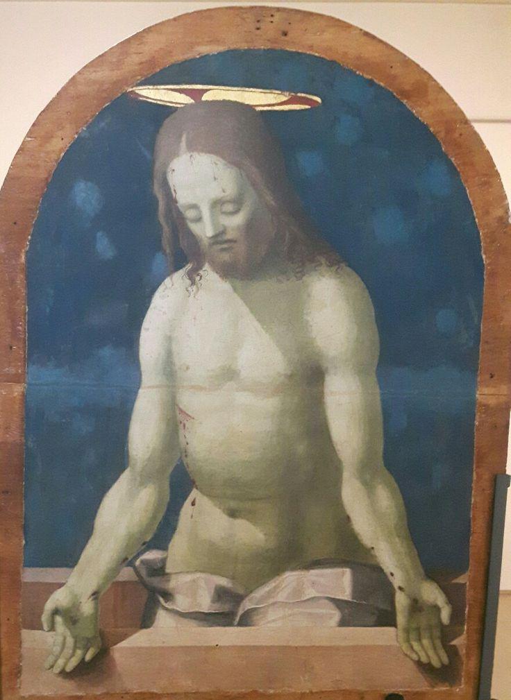 Pinacoteca Nazionale di Siena. Cataletto  per defunti  di una compagnia.