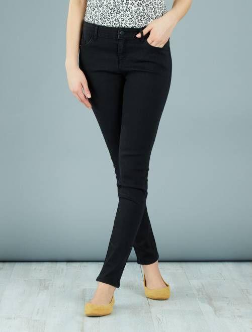 2e8a79cf9fd3 Jean skinny noir Femme - Kiabi
