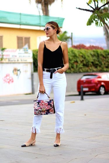 Get this look: http://lb.nu/look/8885679  More looks by Marianela Yanes: http://lb.nu/marilynscloset  Items in this look:  Zara Blouse, Zara Jeans, Mango Bag   #chic #minimal #retro