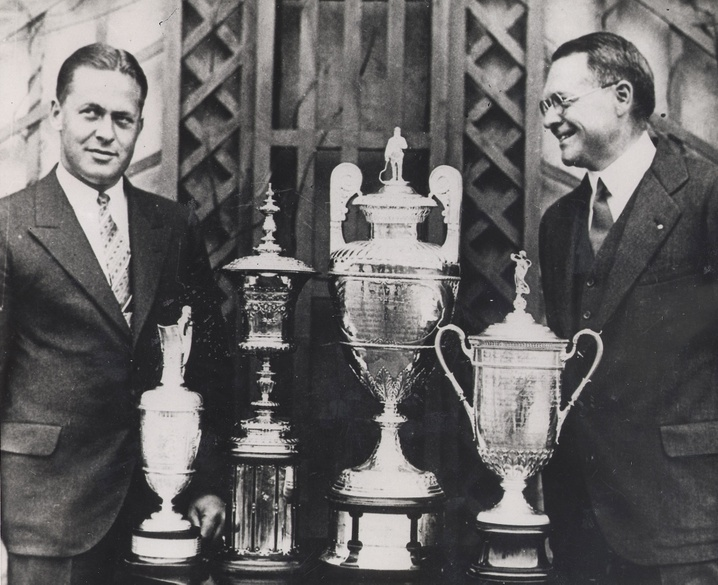 Calendar Year Grand Slam Golf : Images about bobby jones on pinterest timeline