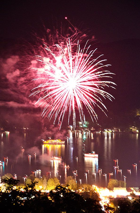 2014 Fireworks Cruises : Lake George Steamboat Company