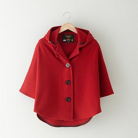 Fidelity Sportswear Cropped Wool Cape