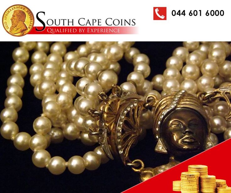 Do you have unwanted pearls laying around? Bring them to South Cape Coins and our expert team will value your pearls for you. #SouthCapeCoins #Pearls #investments