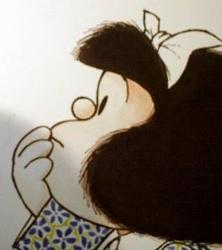 Mafalda vuelve al barrio de San Telmo en forma de estatua
