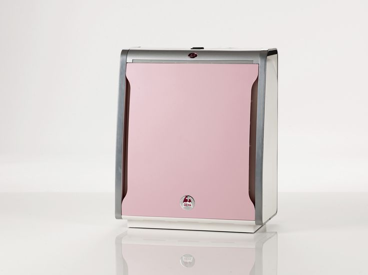 Lux Aeroguard 4S air purifier with pink cover