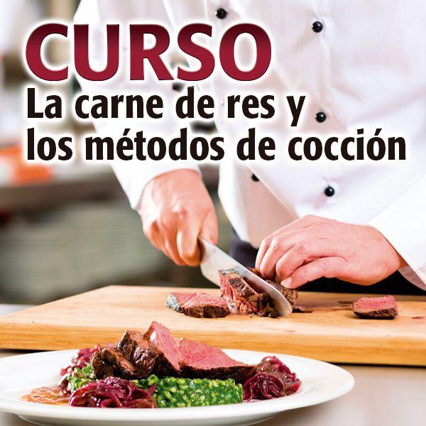 La carne de res y los métodos de cocción.