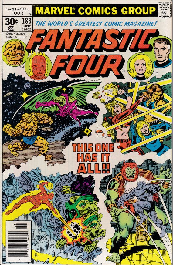 Fantastic Four 183  June 1977 Issue  Marvel Comics  by ViewObscura