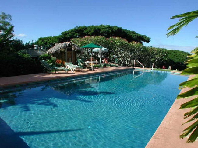 The Banyan Bed and Breakfast Retreat on Maui with rental