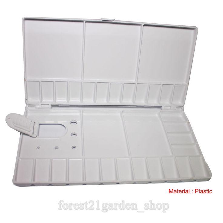 Danami 28 Wells Plastic Water Palette - Large Size - 1 Pcs  #Damao