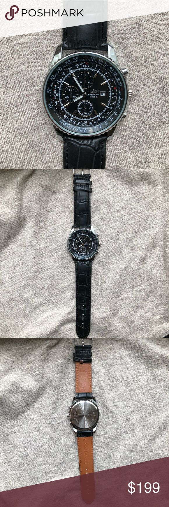 New Breitling Navimeter Men's Bentley Watch Brand New Breitling Navimeter (Bentley Watch)  Exactly like original, 1:1 Scale exact   Quartz Movement   Same Day Shipping!🚀🚀🚀 Breitling Accessories Watches