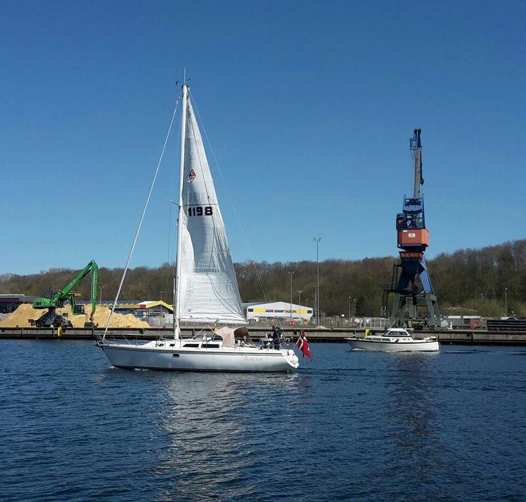 Boats - Flensburger Hafen i Flensburg, Schleswig-Holstein