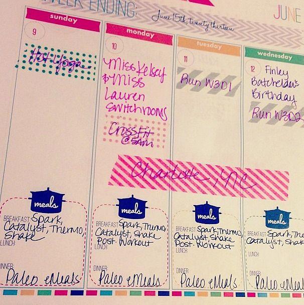 Top Washi Tape Projects @ Honey We're Home via PrettyWellOrganized.com