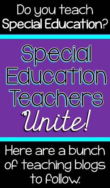 Special Education Teacher Blogs to Follow
