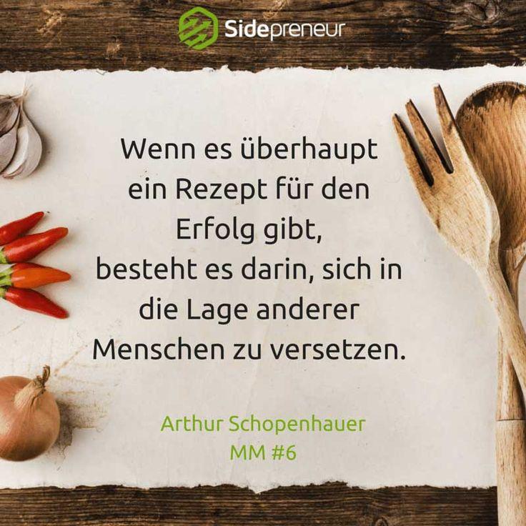 Gibt es ein Erfolgsrezept für deine Gründung? Schopenhauer nennt dir seine wichtigste Zutat - erfolgreiche Unternehmer setzen auf den gleichen Erfolgsfaktor.