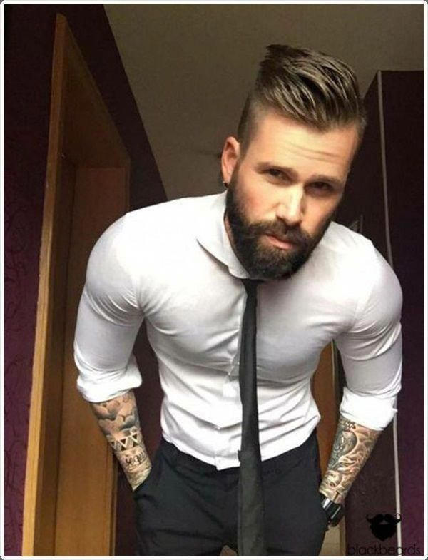 Short Sides And Back With A Long Top Layer Are A Unique Wedding Hairstyle Hairstylesmen Uniquew Hair And Beard Styles Haircuts For Men Groom Hair Styles