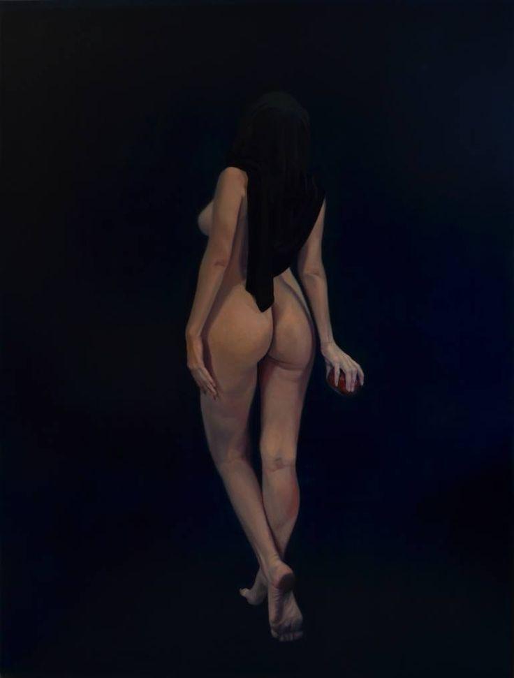 "Saatchi Art Artist Emanuel-Alexandru Gliga; Painting, ""Eva"" #art"