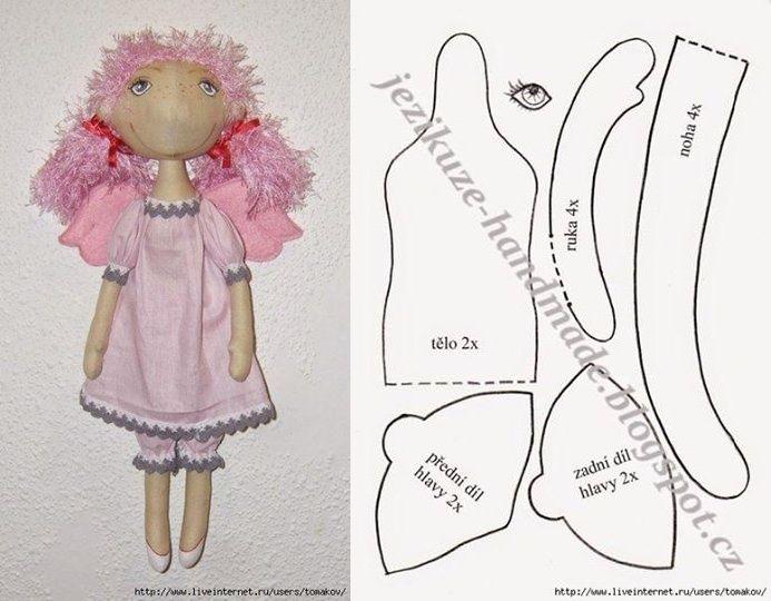LIVEINTERNET.RU....(sew cute! and a freebie pattern at that!)...