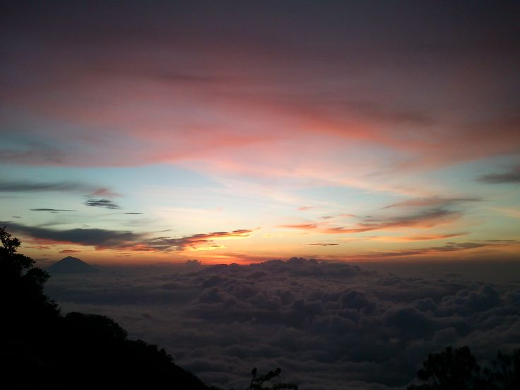 Sunrise Batukaru Mt.