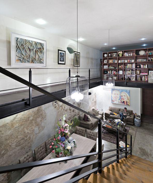 Hacienda San Antonio | Dionne Arquitectos + Posada Arquitectos #interior #stairs #design #architecture