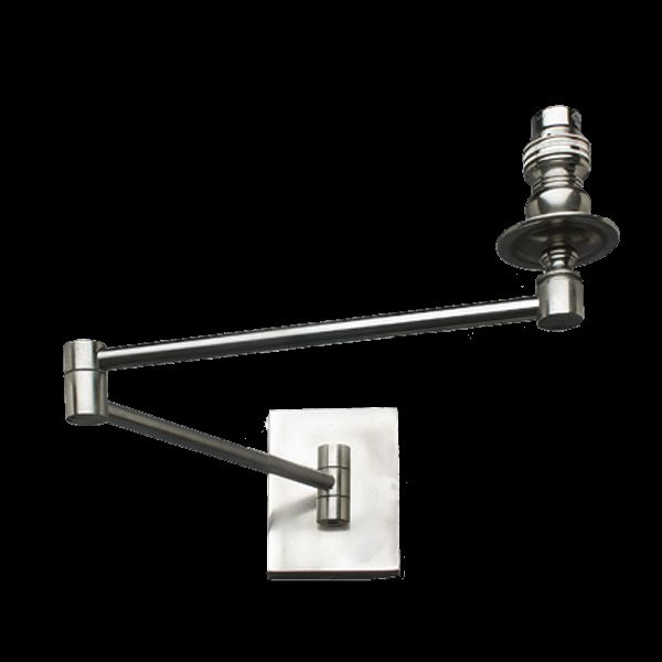 High quality chromed Wall Bracket can be used with existing shade or ordered with shade.