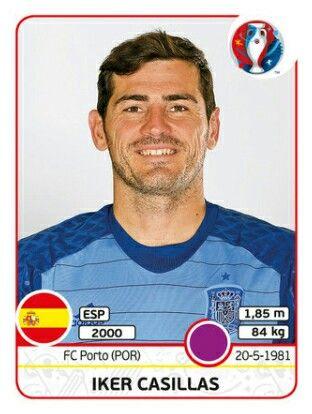 EURO 2016 - ker Casillas - España