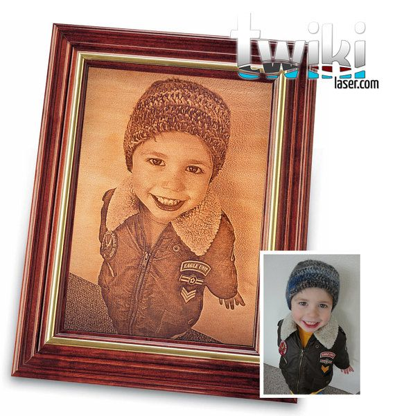 Laser cut and engraved picture. Personalized gift. (8'' x 10'' Picture only) by TwikiConcept, $105.00