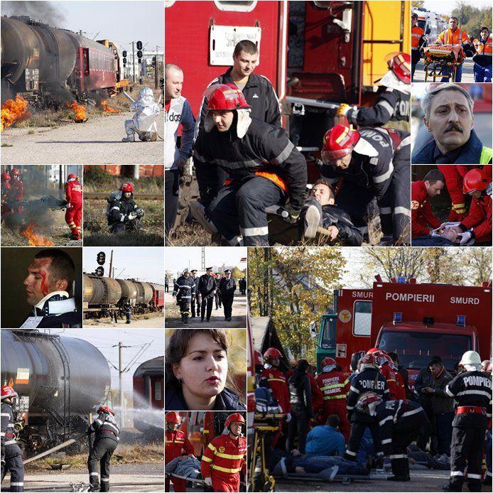 Servicii pentru situații de urgență: profesioniste, voluntare și private