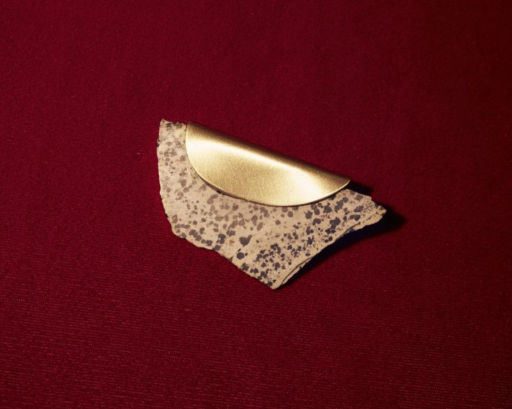 Dalmatian Jasper brooch