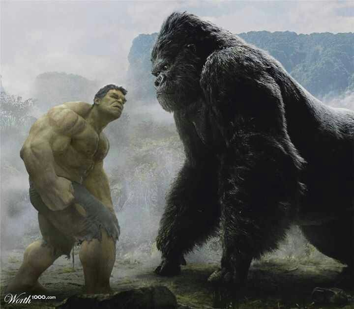 King Kong Vs Hulk Movie Hulk vs King Kong | Ma...