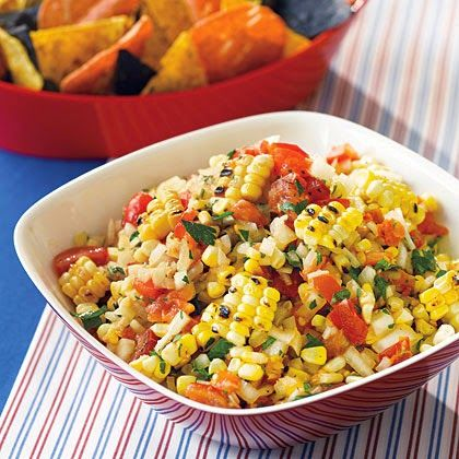 Roasted Corn Salsa Recipe | 77Recipes Weight Watchers Recipes~4 Points Plus Value