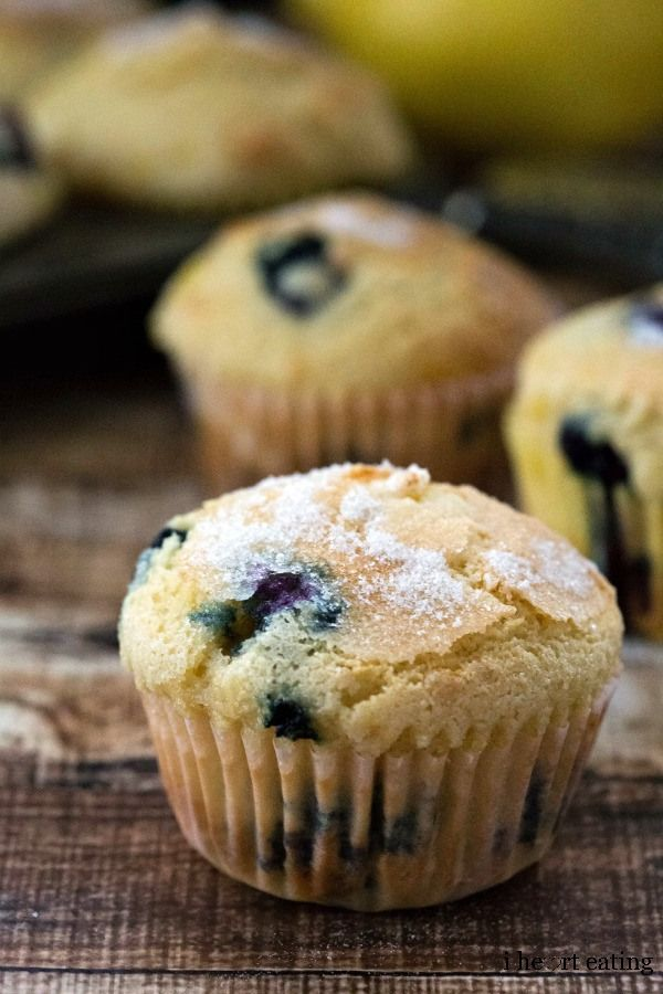 Blueberry Lemon-Sugar Muffins Recipe