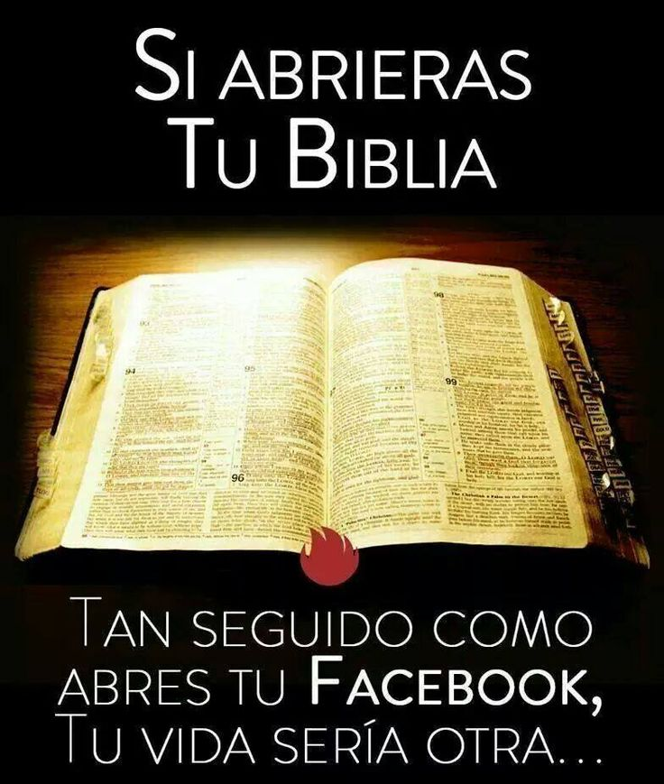 Lee la Biblia...