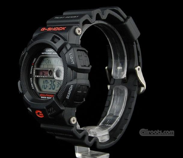 G-Shock Gulfman rust resistant.